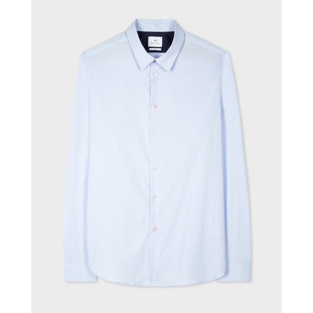Paul Smith L/S Slim Fit Shirt Light Blue