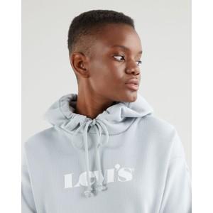 Levis Graphic Standard Hoodie Pearl Grey