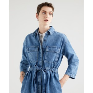 Levis Ainsley Utility Denim Dress Freaky Friday