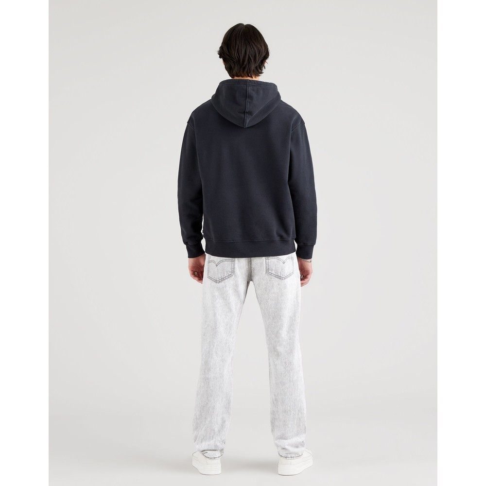 Levis T2 Relaxed Graphic Hoodie Caviar
