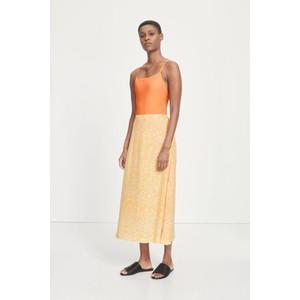 Samsoe Samsoe Andina Flower Print Skirt Golden Aster