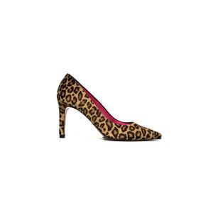 Leo Leopard Shoe Pony Hair Leopard