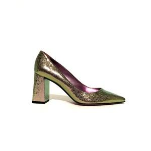 Renata Crackle Shoe Metallic Fuchsia