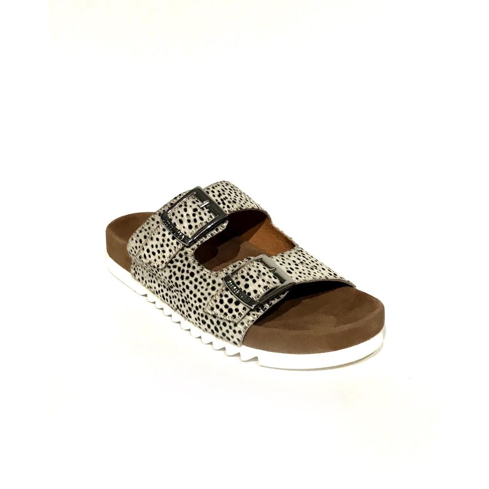 Maruti Bellona Pixel Sandal Off White/Black