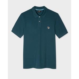 Regular Fit S/S Polo Shirt Dark Teal