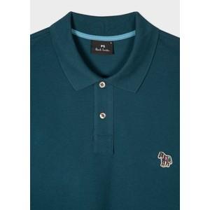 Paul Smith Regular Fit S/S Polo Shirt Dark Teal