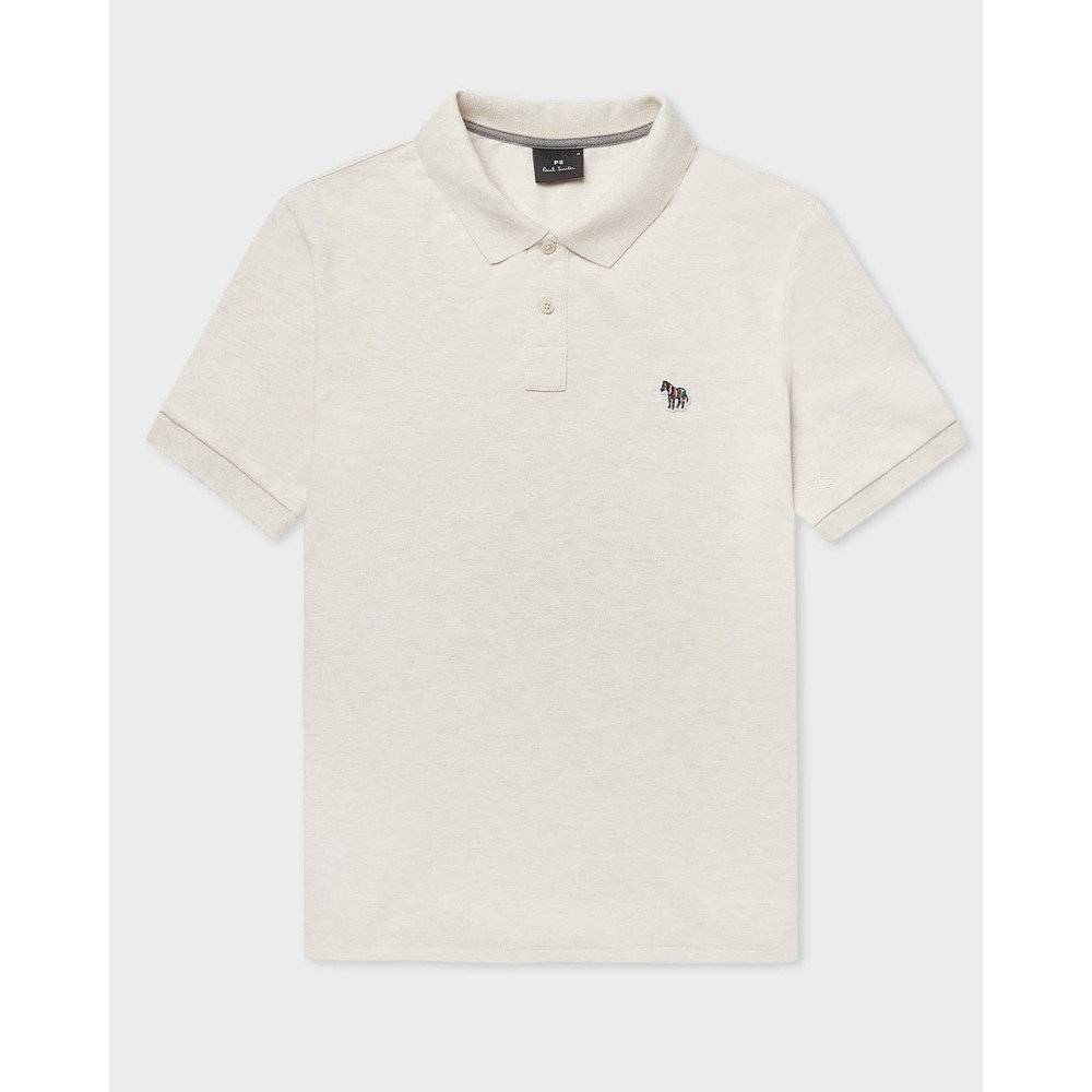 Paul Smith Regular Fit S/S Polo Shirt Off White