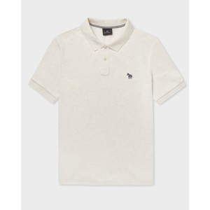 Paul Smith Regular Fit S/S Polo Shirt in Off White