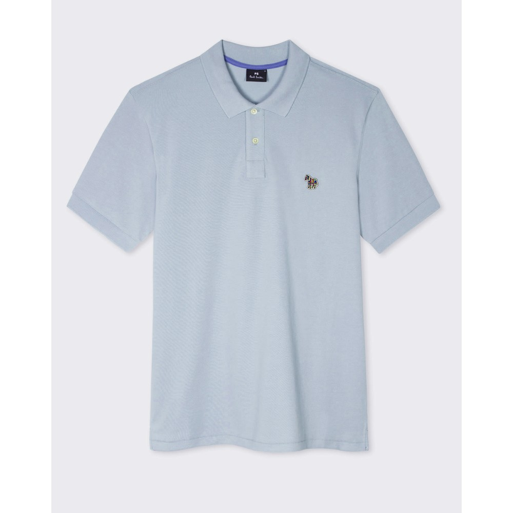 Paul Smith Regular Fit S/S Polo Shirt GreyBlue