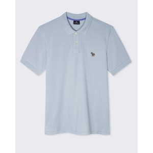 Regular Fit S/S Polo Shirt GreyBlue