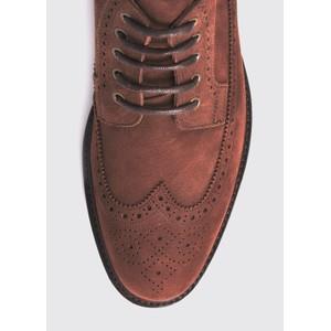 Dubarry Down Brogue Lace Boot Walnut