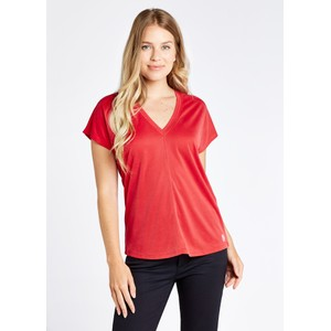 Laragh V/N T Shirt Cardinal