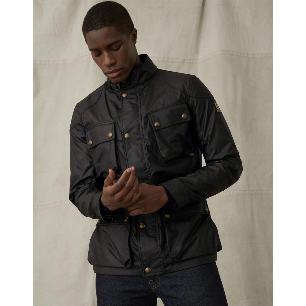 Belstaff Fieldmaster Wax Jacket Black
