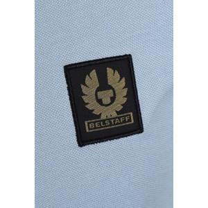 Belstaff Belstaff Short Sleeved Polo Blue Chalk