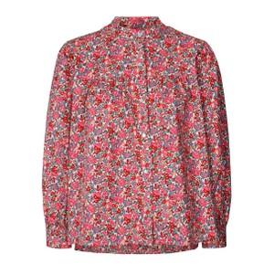 Frankie Floral Shirt Pink Flower Print