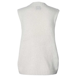 Lollys Laundry Rosa Knitted Vest Creme