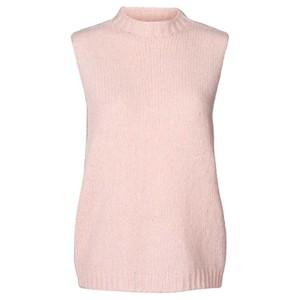 Lollys Laundry Rosa Knitted Vest Light Pink