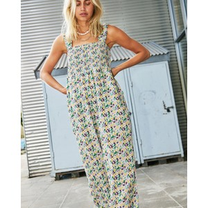 Lollys Laundry Abba Smock Top Jumpsuit Multi