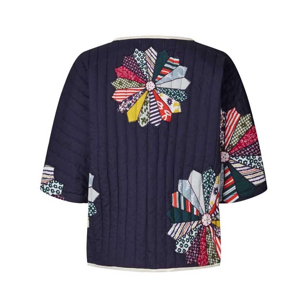 Lollys Laundry Freya Quilted Jacket Dark Blue/Multi