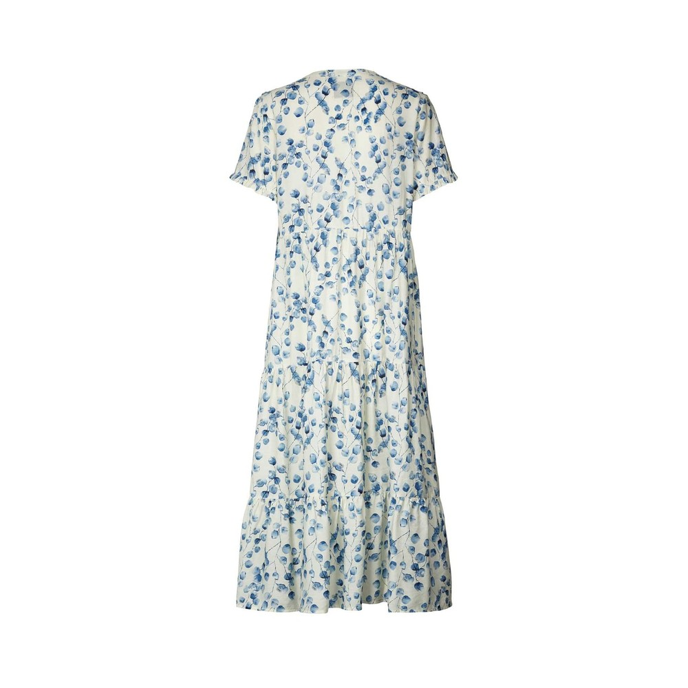 Lollys Laundry Freddy Dress Creme/Blue