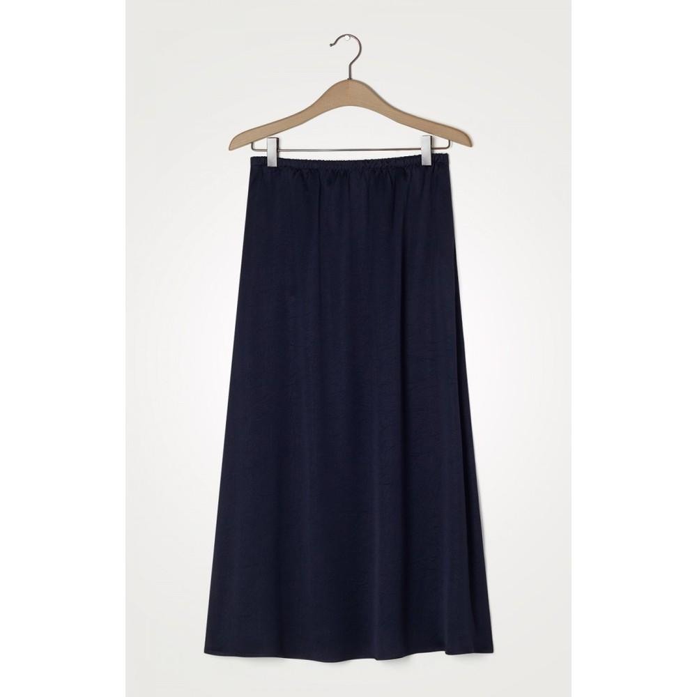 American Vintage Widland Long Skirt Navy Blue