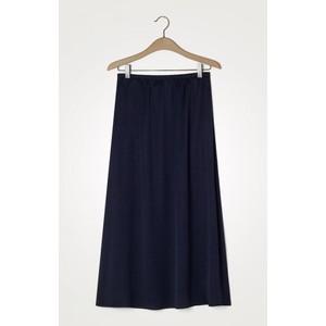 Widland Long Skirt Navy Blue