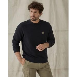 Belstaff Crewneck Sweatshirt Black