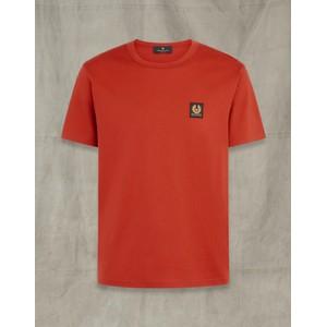 Belstaff Belstaff S/S T Shirt in Red Ochre