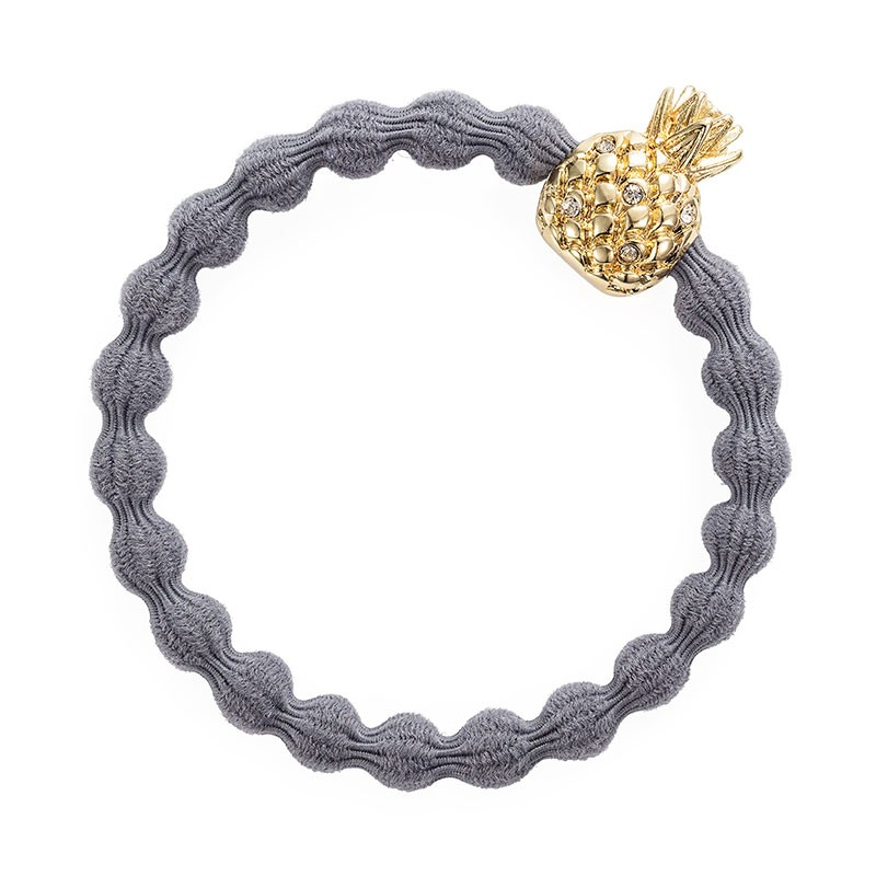 By Eloise Pineapple Bangle Band Storm Grey
