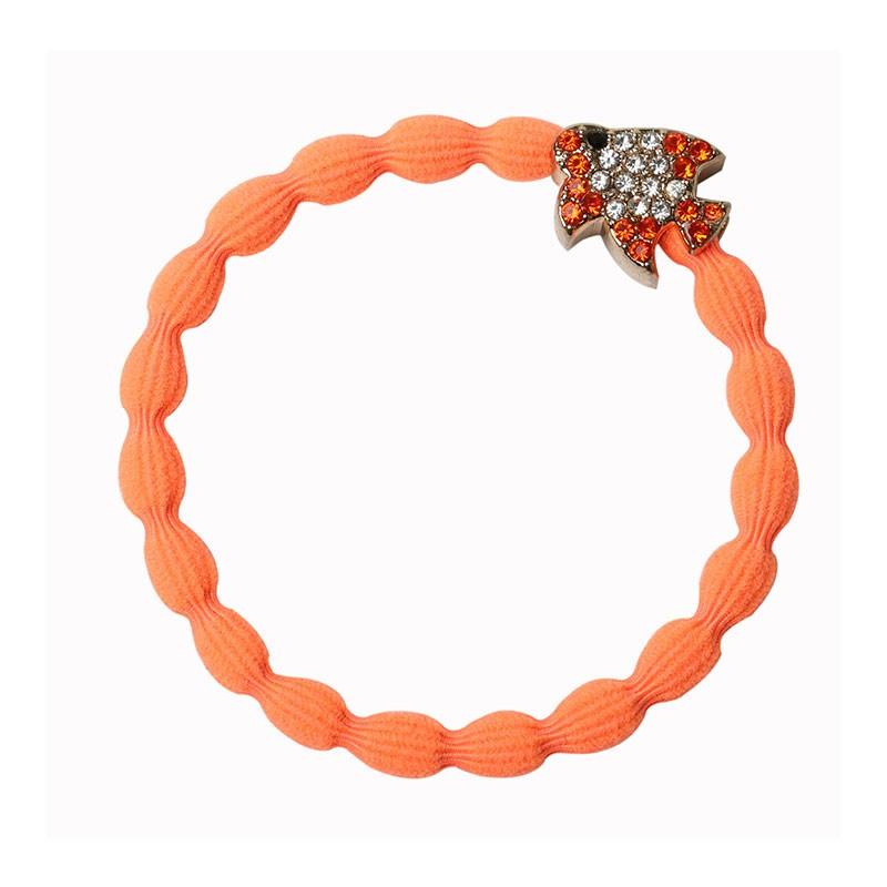 By Eloise Tropical Fish Bangle Bands Neon Orange