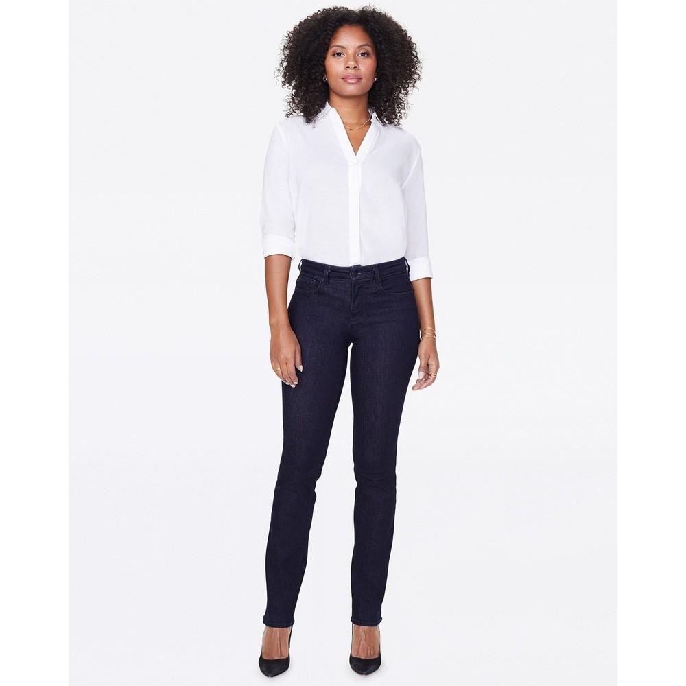 NYDJ Marilyn Straight Jeans Rinse