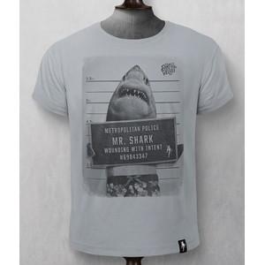 Mr Shark T-Shirt Highrise Grey