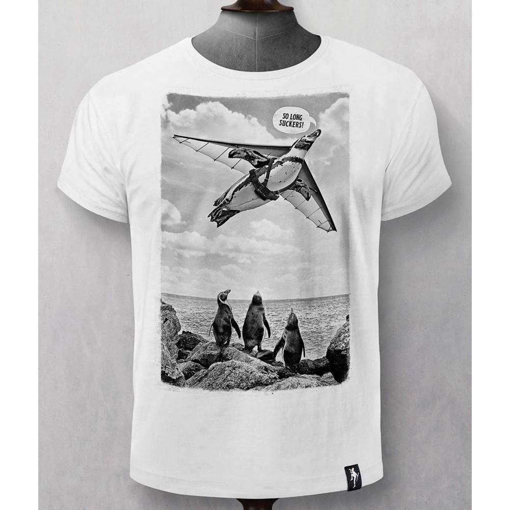 Dirty Velvet The Aviator T-Shirt Vintage White