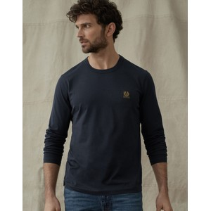 Belstaff L/S T-Shirt Dark Ink