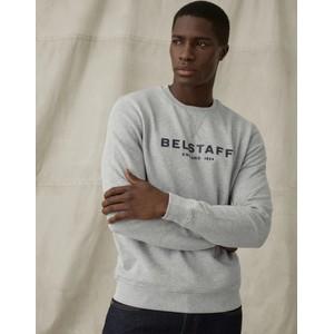 Belstaff Belstaff 1924 Sweatshirt in Grey Melange/Dark Ink