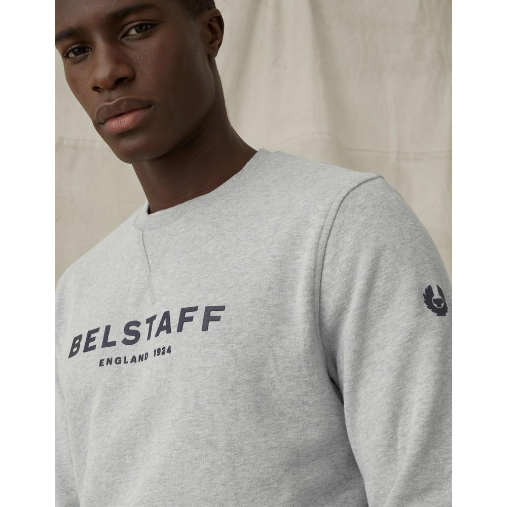 Belstaff Belstaff 1924 Sweatshirt Grey Melange/Dark Ink