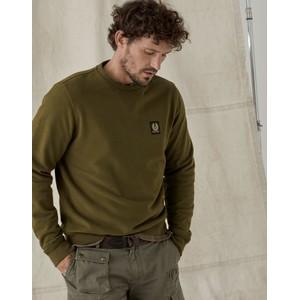 Belstaff Crewneck Sweatshirt Salvia