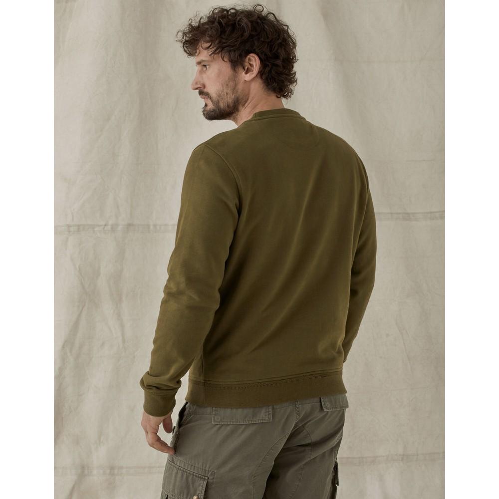 Belstaff Belstaff Crewneck Sweatshirt Salvia