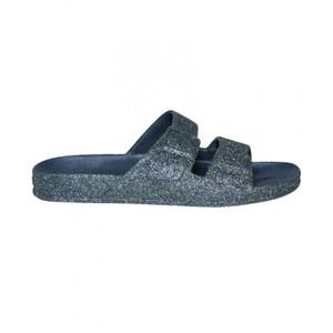 Trancoso Glitter Sandals Navy
