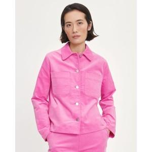 Bui Fine Cord Overshirt Bubblegum Pink