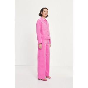 Samsoe Samsoe Bui Fine Cord Overshirt Bubblegum Pink