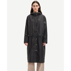 Stala Long Shower Proof Jacket Black