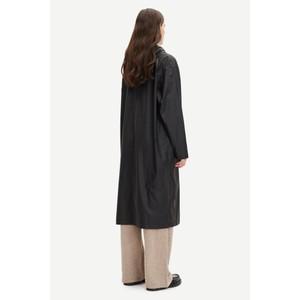 Samsoe Samsoe Stala Long Shower Proof Jacket Black