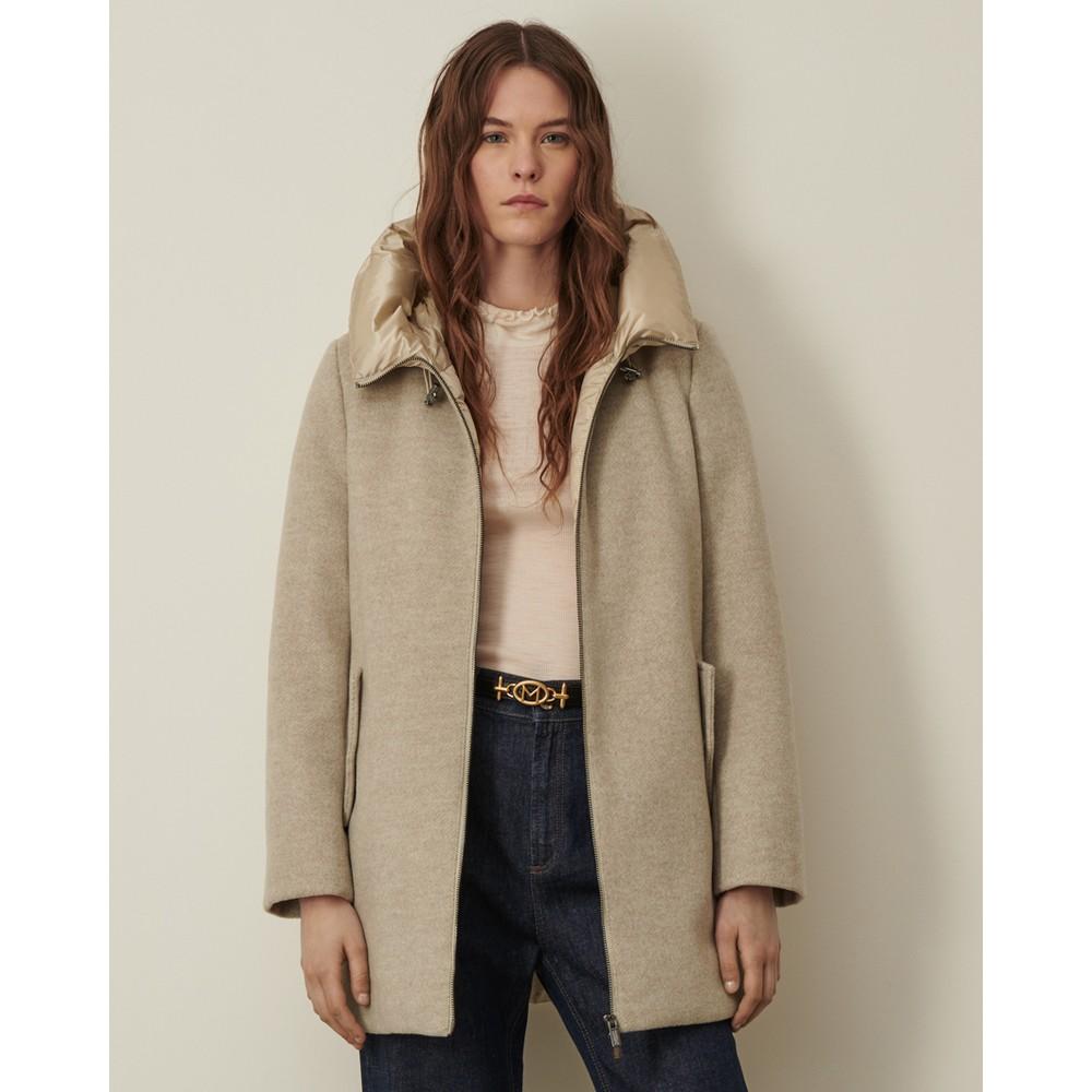 Marella Fama Quilted Jacket Ecru