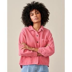 Pilou Oversized Cord Shirts Blush