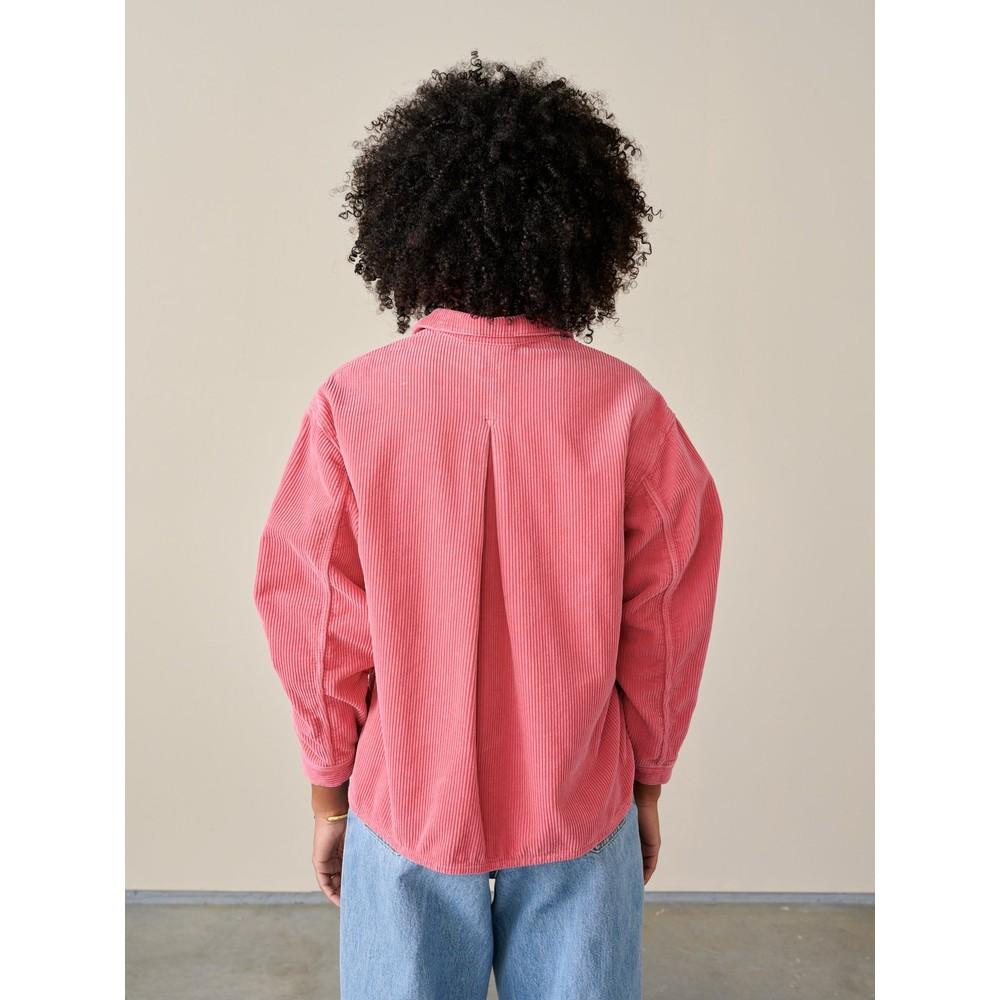Bellerose Pilou Oversized Cord Shirts Blush