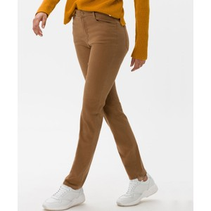Mary Slim Fit Trousers Chestnut