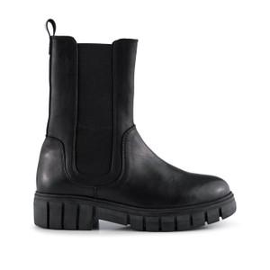 Rebel Chelsea High Leg Boot Black