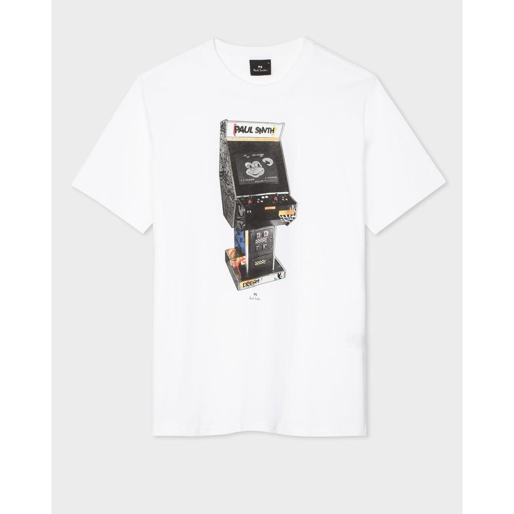 Paul Smith Arcade Reg Fit Short Sleeve T-Shirt White