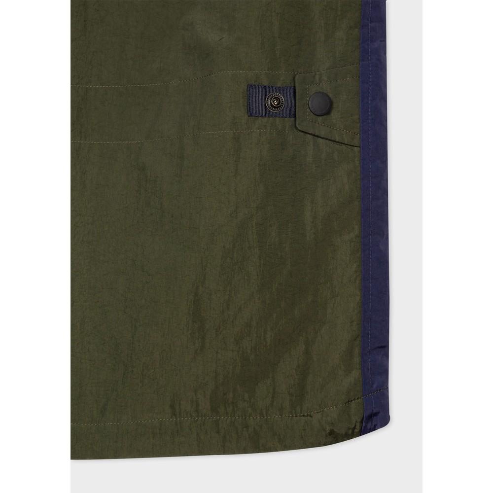 Paul Smith Full Zip 3 Pocket Gilet Bottle Green
